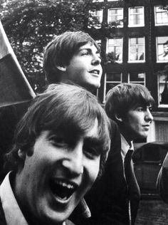 John Lennon, Paul McCartney, and George Harrison