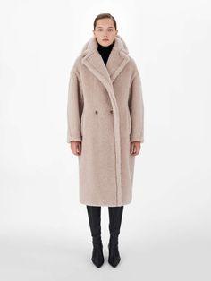 Oversize Mantel, Oversized Coat, Reggio Emilia, Max Mara Teddy Coat, Wool Coat, Fur Coat, Teddy Bear Jacket, Belted Coat, Double Breasted Coat