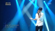 How am I supposed to live without you (Michael Bolton) sung by Moon MyungJin (문명진) @ Immortal Songs 2 Korean Variety Shows, Michael Bolton, Living Without You, Korean Music, Jin, Music Videos, Singing, Lyrics, Entertaining