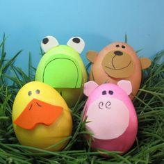 75 Coole Deko Ideen für Ostern 2014 - kinder spass unterhaltung tiere ostereier freude