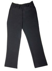 Women's Economy Black Chef Pants from Best Buy Uniforms. To see more women's chef uniforms click here http://www.bestbuyuniforms.com/chef-chef-uniforms-for-women/686-economy-womens-black-chef-pants.html