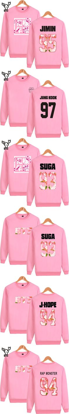 BTS Men/Women Hoodies Sweatshirt pink 2017 kpop Autumn Casual bangtan Boys Fashion Cartoon Young Forever Clothes XXXXL