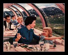 Train Dining Car Interior Modern Midcentury Windows Vintage Advertisement Travel by Christian Montone Vintage Advertisements, Vintage Ads, Vintage Images, Midcentury Windows, Interior Windows, Midcentury Modern, Car Wall Art, Retro Kitchen Decor, Retro Futurism