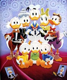 Carl Barks' Duck Family