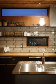 house-06: dwarfが手掛けたキッチンです。 Japanese Kitchen, Yellow Houses, New Room, Scandinavian Design, Kitchen Dining, New Homes, Kitchen Appliances, Kitchens, Inspiration