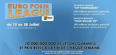 """Euro Poker League"", sur www.PokerGratuit.fr"