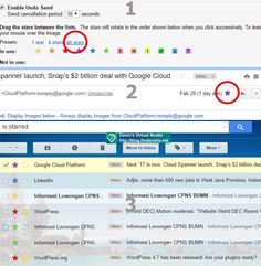 Cara Mengganti Warna Warni Bintang Gmail