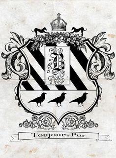 Black Family Crest by Kakaheishi (Deviant Art)