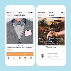 Find your next favorite fashion piece using this app.