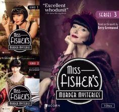 Miss Fisher's Murder Mysteries Series 1-3 (DVD)