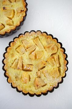 French Apple or Pear Clafoutis/Flognarde
