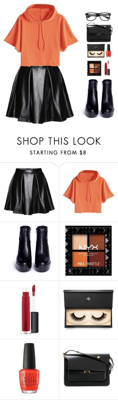 """""""fall"""" by altrisa-mulla ❤ liked on Polyvore featuring Ash, John Lewis, Lash Star Beauty, Marni and ZeroUV"""