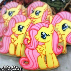 ButterWinks -Fluttershy MLP cookies