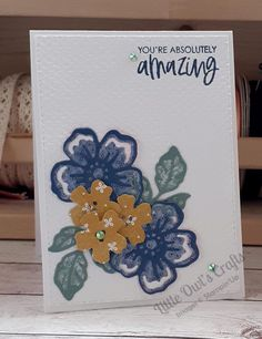 July InspireINK Blog Hop – Little Owl's Crafts Owl Crafts, You Are Invited, Large Flowers, Embossing Folder, I Card, Stampin Up, Card Stock, Colours, Projects