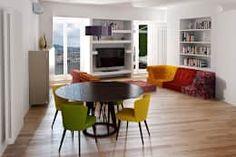 Salon de style de style Moderne par T+T ARCHITETTURA