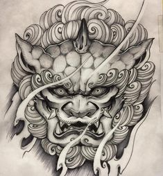 Popular Tattoos and Their Meanings Hannya Tattoo, Mask Tattoo, Irezumi Tattoos, Tiger Tattoo, Tattoo Ink, Japanese Hand Tattoos, Japanese Tattoo Designs, Japanese Tattoo Samurai, Tattoo Sketches