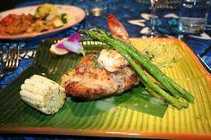 Mama's Fish House. Paia, Maui, Hawaii. Best of the world. Mahi Mahi stuffed with crab & lobster (18508617)