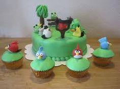 taart angry birds #omnomnom