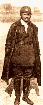Bessie Coleman - Aviator, world's first licensed black pilot