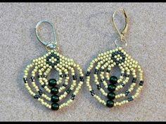 Video: Beaded Radial Earrings  #Seed #Bead #Tutorials