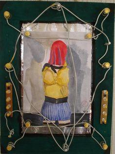 Für die Stockings und Nylons Liebhaber/rinnnen wie ich. Meine eigene Kunst : GUANTANAMO BAY. Verkauft  Zur Zeit meine Kunst auch auf ebay.de unter:  http://www.ebay.de/sch/i.html?_from=R40&_trksid=p2050601.m570.l1313.TR2.TRC1.A0.H0.XEYF-ART.TRS0&_nkw=EYF-ART&_sacat=0