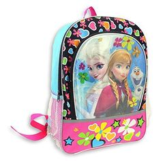 Disney Frozen Neon 16 inch Backpack  Photo Bomb ** This is an Amazon Affiliate link. More info could be found at the image url.