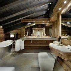 Luxurious Chalet Edelweiss in Courchevel 1850, France.