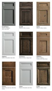 Dura Supreme Cabinetry New Door Styles - traditional - kitchen cabinets - minneapolis - by Dura Supreme Cabinetry