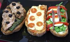 Receta de 3 tipos de tostas fáciles   Eureka Recetas