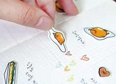 Lazy egg (Gudetama) stickers that basically represent how you feel every morning. | 21 Awesome Products From Amazon To Put On Your Wish List