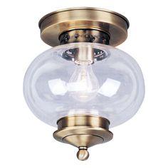 Livex Lighting 5032 Harbor Flush Mount Ceiling Light