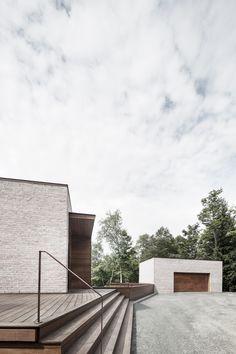 Les Elfes house by Alain Carle Architecte