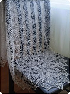 KnitANDlace - baby blanket 95x95cm - Estonian stitch pattern