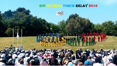 Fraternity Love Peace by Olympic Torch