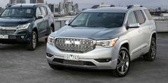 New Holden Acadia - sourced from GMC in America