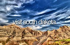 Bucket list: Visit South Dakota