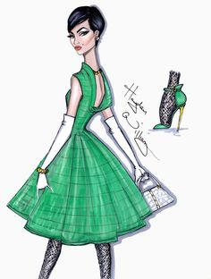 fashion illustrations by Hayden Williams