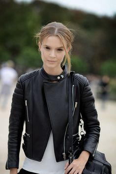 Jacket <3 (find your perfect leather garments at www.bluegold.nl)