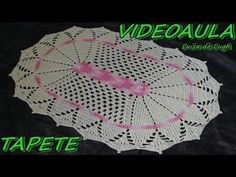 Tapete de Barbante em Croche Oval Azul e Natural parte 1 - crochet rug - alfombra de ganchillo - YouTube