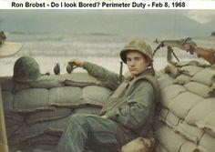 "Unit Name: 1st FLC, FSR, Ration Co. Baker  ""Camp Books, FLC Red Beach"" Perimeter Guard ""TET"""