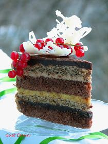 Food Cakes, Something Sweet, Parfait, Vanilla Cake, Cake Recipes, Cheesecake, Food And Drink, Ice Cream, Sweets