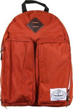 Poler The Day Pack Backpack - burnt orange - Accessories > Packs & Bags > Backpacks > Street Backpacks Orange Accessories, Orange Backpacks, Bordeaux, Black Backpack, Burnt Orange, Whiskey Sour, Terracota, Hoodies, Day