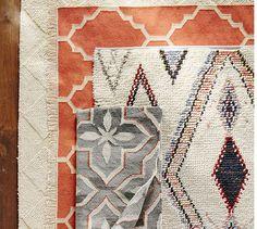Anja Wool Loop Rug | Pottery Barn