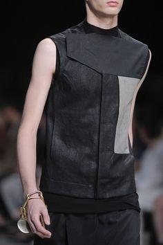 Leather shirt - rick owens
