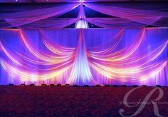 Backdrop Draping Ideas Google Search Wedding Draping Wedding Stage Design Wedding Reception Backdrop