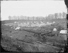 Matthew Brady Civil War Photos   camp northumberland photograph by mathew brady