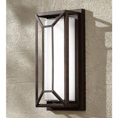 Radcliffe High Bronze Finish LED Outdoor Wall Light is a quality Sconces for your home decor ideas. Outdoor Wall Light Fixtures, Modern Outdoor Wall Lighting, Led Outdoor Wall Lights, Outdoor Sconces, Porch Lighting, Outdoor Walls, Wall Sconce Lighting, Exterior Lighting, Lighting Ideas