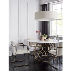 Find modern dining chairs as dashing as the table itself. Shop online for chairs and benches in modern upholstery such as velvet, leather and rattan. Dining Room Design, Interior Design Kitchen, Room Interior, Dining Room Furniture, Dining Chairs, Dining Rooms, Dining Sets, Furniture Design, Small Dining