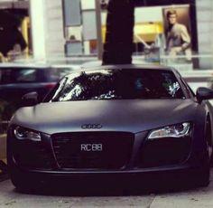 Audi R8, Black Matte. Do I have to say more?!