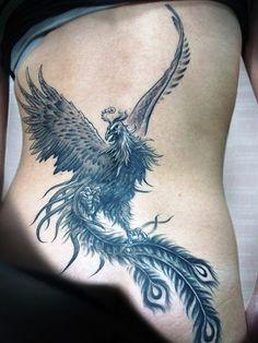 21-Phoenix Tattoo Ideas
